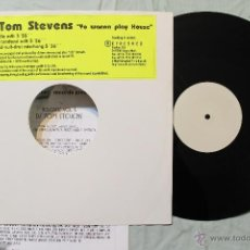 Discos de vinilo: DJ TOM STEVENS YO WANNA PLAY HOUSE MAXI SINGLE GERMANY 1997. Lote 43832029