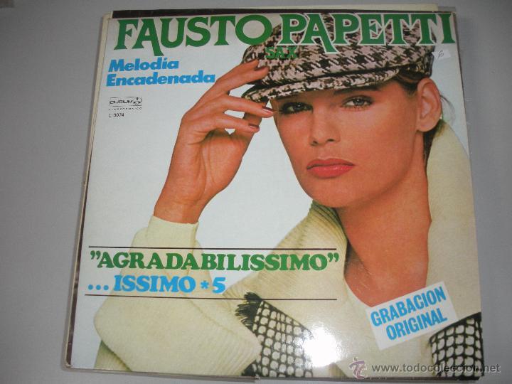 MAGNIFICO PP DE - FAUSTO - PAPETTI - (Música - Discos - LP Vinilo - Disco y Dance)