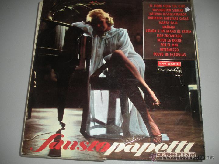 MAGNIFICO LP DE - FAUSTO - PAPETTI - (Música - Discos - LP Vinilo - Disco y Dance)