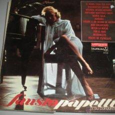 Discos de vinilo: MAGNIFICO LP DE - FAUSTO - PAPETTI -. Lote 43836751