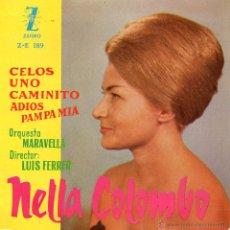 Discos de vinilo: NELLA COLOMBO, EP, CELOS + 3, AÑO 1960. Lote 43842948