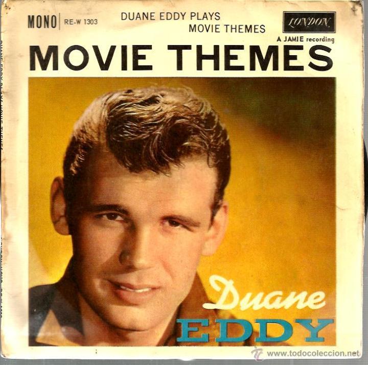 EP DUANE EDDY ( MOVIE THEMES ) : RING OF FIRE + 3 MONO (Música - Discos de Vinilo - EPs - Pop - Rock Extranjero de los 50 y 60)