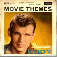 Discos de vinilo: EP DUANE EDDY ( MOVIE THEMES ) : RING OF FIRE + 3 MONO. Lote 43849276