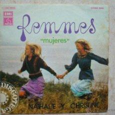 Discos de vinilo: FEMMES - MUJERES . Lote 43850470