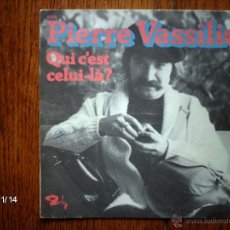 Discos de vinilo: PIERRE VASSILIU - QUI C´EST CELUI-LA? + FILM . Lote 43851436
