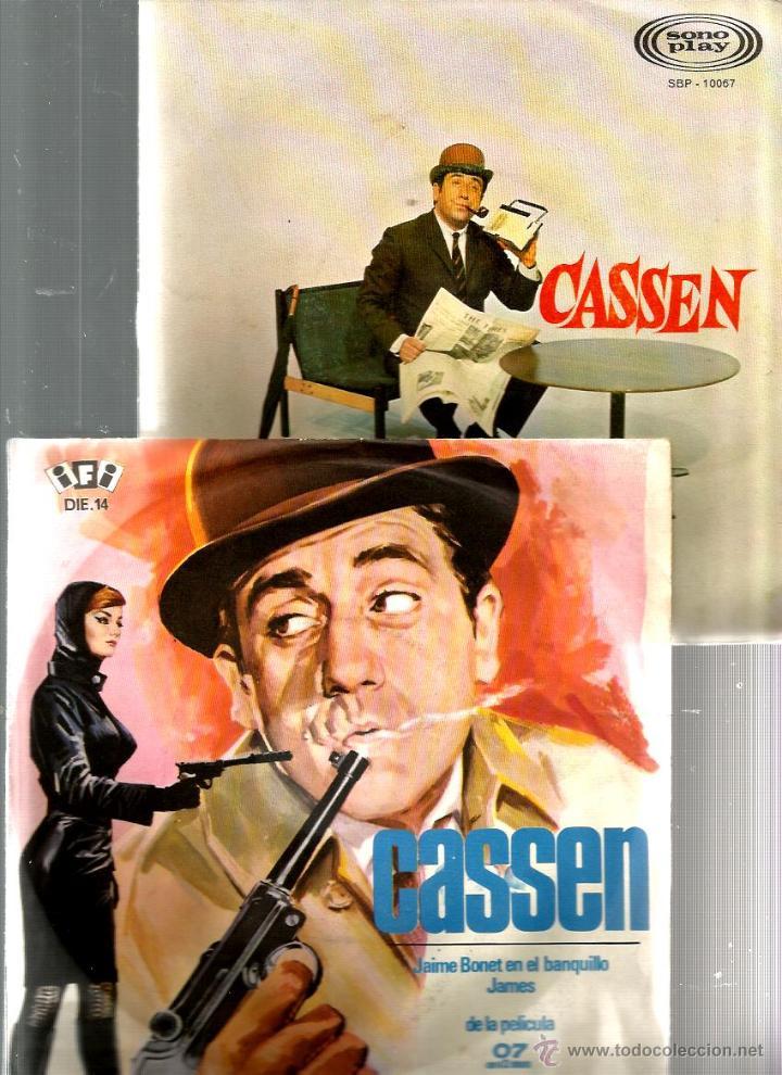 4 DISCOS DE CASSEN : JAIME BONET ( 07 CON EL 2 DELANTE) + EL MUJERIEGO + PIERNAS CON MALLA + ETC (Música - Discos de Vinilo - EPs - Bandas Sonoras y Actores)