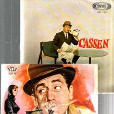 Discos de vinilo: 4 DISCOS DE CASSEN : JAIME BONET ( 07 CON EL 2 DELANTE) + EL MUJERIEGO + PIERNAS CON MALLA + ETC. Lote 43853425