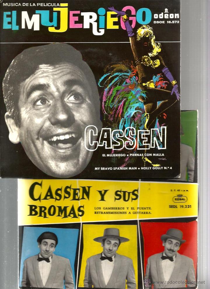 Discos de vinilo: 4 DISCOS DE CASSEN : JAIME BONET ( 07 CON EL 2 DELANTE) + EL MUJERIEGO + PIERNAS CON MALLA + ETC - Foto 2 - 43853425