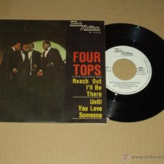 Discos de vinilo: FOUR TOPS SINGLE REACH OUT I'LL BE THERE TAMLA MOTOWN. Lote 24607410