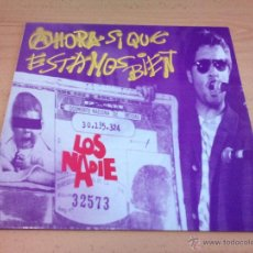 Discos de vinilo: LOS NADIE - AHORA SI QUE ESTAMOS BIEN ( LP 1992 ) PUNK ROCK VALLADOLID - NUEVO. Lote 86232156