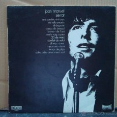 Discos de vinilo: MUSICA LP´S, LP DISCO VINILO - JOAN MANUEL SERRAT - ORLADO, UNIVERSAL 1971 - EDI. CIRCULO LECTORES. Lote 43864926