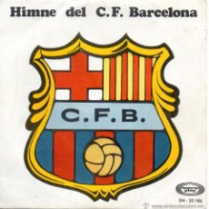 Discos de vinilo: COBLA CARAVANA, SG, HIMNE DEL F.C.BARCELONA + 2, AÑO 1969. Lote 43865856