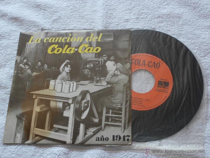 LA CANCION DEL COLA CAO (1947) -LA CANCION DEL COLA CAO (1975) *SUPER RARO EP (1974) COLECCIONISTAS (Música - Discos de Vinilo - EPs - Grupos Españoles de los 70 y 80)