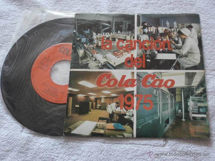 Discos de vinilo: LA CANCION DEL COLA CAO (1947) -LA CANCION DEL COLA CAO (1975) *SUPER RARO EP (1974) COLECCIONISTAS - Foto 2 - 43866603