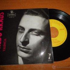 Discos de vinilo: ALFREDO KRAUS VALENCIA EP DE VINILO DEL AÑO 1959 ORQUESTA CAMARA DE MADRID 4 TEMAS ZAFIRO RARO. Lote 43868409