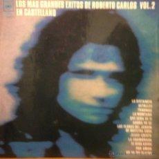 Discos de vinilo: LP RECOPILACIÓN DE ROBERTO CARLOS CANTADO EN ESPAÑOL AÑO 1973 EDICIÓN ARGENTINA. Lote 160051257
