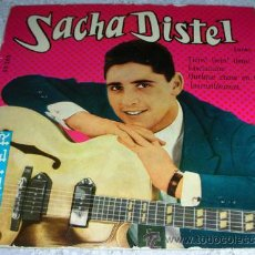 Discos de vinilo: SACHA DISTEL - QUELQUE CHOSE EN TOI + 3 - EP BELTER 1959. Lote 43872069