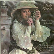 Discos de vinilo: KARINA EP SELLO GAMMA-HISPAVOX EDITADO EN MEXICO AÑO 1975. Lote 43876042