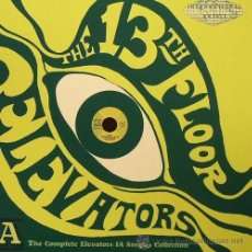 Discos de vinilo: SINGLE BOX THE 13TH FLOOR ELEVATORS, THE COMPLETE ELEVATORS IA SINGLES COLLECTION PSYCH GARAGE. Lote 43881033