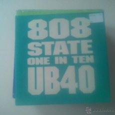 Discos de vinilo: B1 UB40 - STATE ONE IN TEN (PEDIDO MINIMO 6 EUROS). Lote 43884294