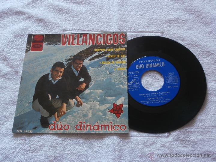 DUO DINAMICO 7´EP VILLANCICOS (1965) EN BUEN ESTADO -COLECCION- (Música - Discos de Vinilo - EPs - Grupos Españoles 50 y 60)