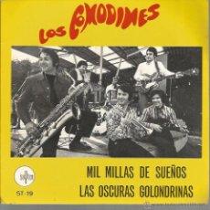 Discos de vinilo: SG LOS COMODINES : MIL MILLAS DE SUEÑOS ( COMPLETAMENTE NUEVO !!!!) . Lote 43885369