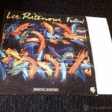 Discos de vinilo: LEE RITENOUR - FESTIVAL (LP, ALBUM) . Lote 43893531