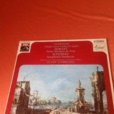 Discos de vinilo: . LP ALBINONI ADAGIO POUR CORDES & ORGUE . Lote 43897143