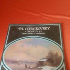 Discos de vinilo: . LP P.I. TCHAIKOVSKY CONCERTO Nº1 POUR PIANO ET ORCHESTRE. Lote 43897186