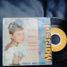 Discos de vinilo: MARISOL EN MI CARITA DE AZUCENA, MONTILLA 1969. Lote 43899029