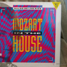 Discos de vinilo: MOZART IN THE HOUSE-WALDO LOS RIOS-. Lote 43899473