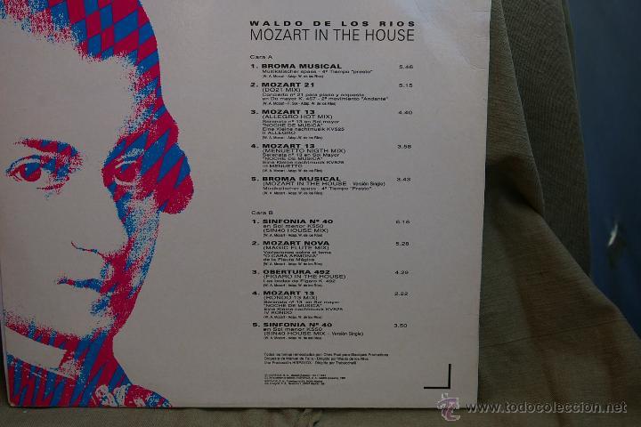 Discos de vinilo: MOZART IN THE HOUSE-WALDO LOS RIOS- - Foto 2 - 43899473