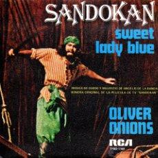 Discos de vinilo: . SINGLE SANDOKAN. Lote 43904369