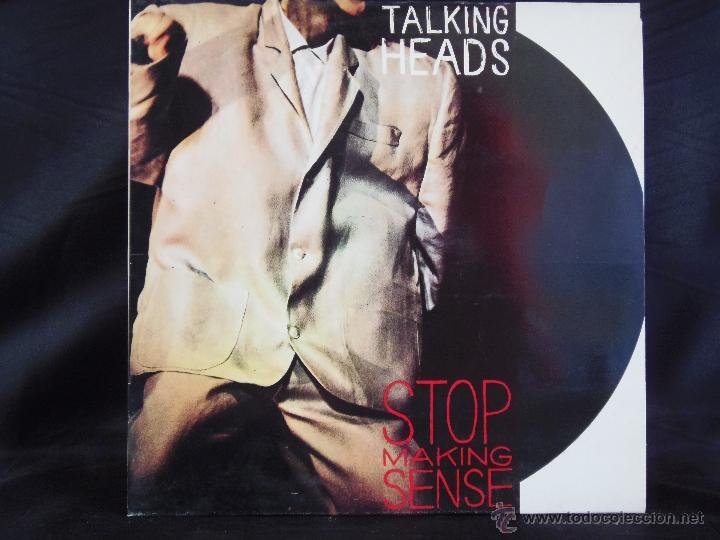 TALKING HEADS STOP MAKING SENSE 1984 (Música - Discos - LP Vinilo - Pop - Rock - New Wave Extranjero de los 80)