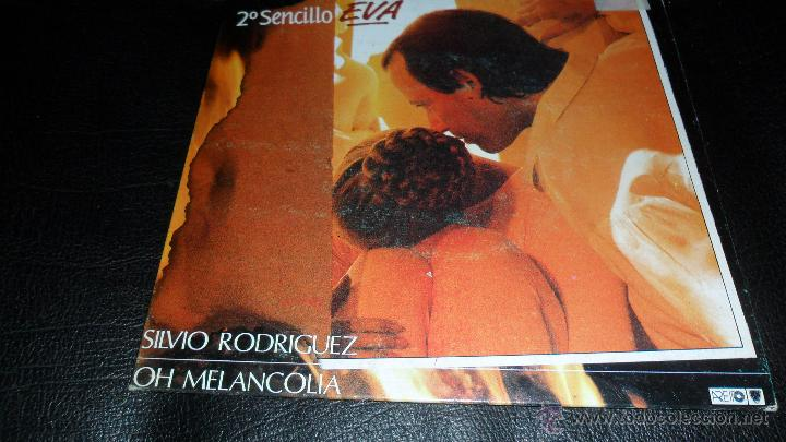 SILVIO RODRIGUEZ, DISCO PROMOCIONAL, EVA / YO SOY DE DONDE HAY UN RIO, 1989 (Música - Discos - Singles Vinilo - Cantautores Españoles)