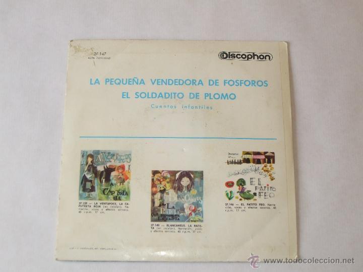 Discos de vinilo: Single infantil de cuentos. - Foto 2 - 43920701