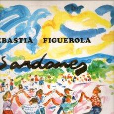 Discos de vinilo: COBLA MONTGRINS SEBASTIA FIGUEROLA. Lote 43921853