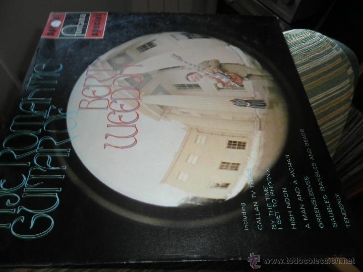 Discos de vinilo: BERT WEEDON - THE ROMANTIC GUITAR LP - ORIGINAL INGLES - FONTANA RECORDS 1970 - STEREO - - Foto 7 - 43923269