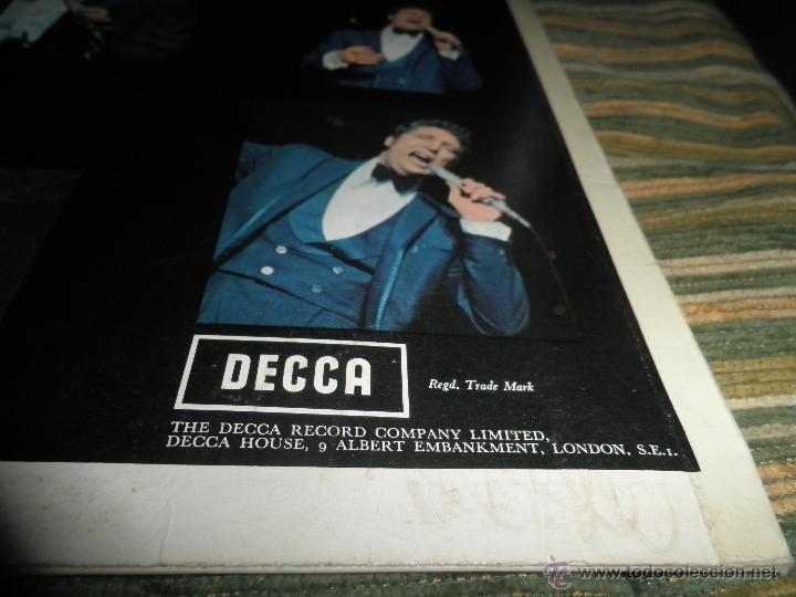 Discos de vinilo: TOM JONES - AT TALK OF THE TOWN LP - ORIGINAL INGLES - DECCA RECORDS 1967 UNBOXED RED LABEL MONO - Foto 5 - 43924653