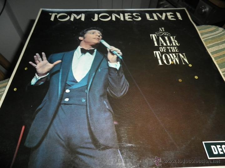 Discos de vinilo: TOM JONES - AT TALK OF THE TOWN LP - ORIGINAL INGLES - DECCA RECORDS 1967 UNBOXED RED LABEL MONO - Foto 10 - 43924653