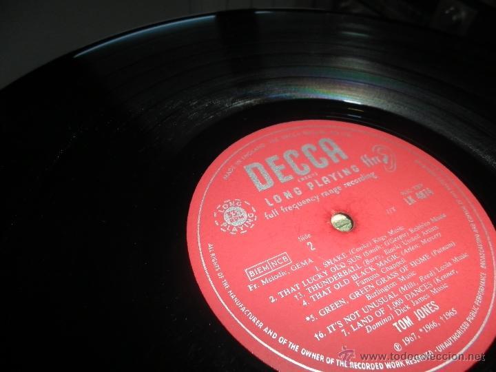 Discos de vinilo: TOM JONES - AT TALK OF THE TOWN LP - ORIGINAL INGLES - DECCA RECORDS 1967 UNBOXED RED LABEL MONO - Foto 18 - 43924653