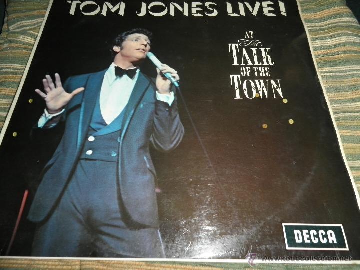 Discos de vinilo: TOM JONES - AT TALK OF THE TOWN LP - ORIGINAL INGLES - DECCA RECORDS 1967 UNBOXED RED LABEL MONO - Foto 20 - 43924653