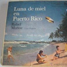 Discos de vinilo: MAGNIFICO LP DE -RAFAEL MUÑOZ Y SU ORQUESTA -. Lote 43927839