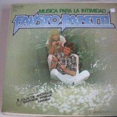 Discos de vinilo: MAGNIFICO LP DE - FAUSTO PAPAETTI -. Lote 43928208