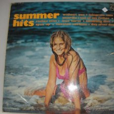 Discos de vinilo: MAGNIFICO LP DE - SUMMER - HITS -. Lote 43928419