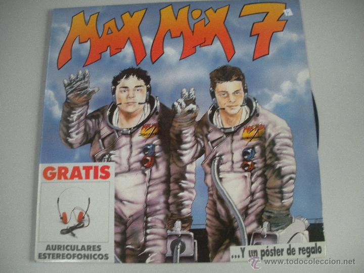 MAGNIFICO DOBLE LP DE- MAX -MIX - 7 - (Música - Discos - LP Vinilo - Techno, Trance y House)