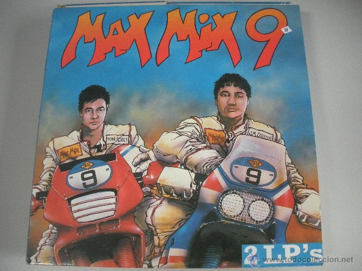 MAGNIFICO DOBLE LP DE - MAX - MIX - 9 - (Música - Discos - LP Vinilo - Techno, Trance y House)