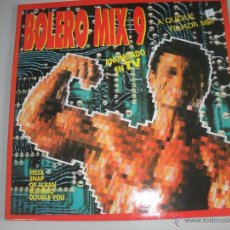 Discos de vinilo: MAGNIFICO DOBLE LP DE -BOLERO - MIX - 9 -. Lote 43932440