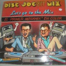 Discos de vinilo: MAGNIFICO TRIPLE LP DE - DISC - JOCKEY - MIX -. Lote 43932485