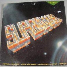Discos de vinilo: MAGNIFICO DOBLE LP DE- S U P E R M A X -. Lote 43932540